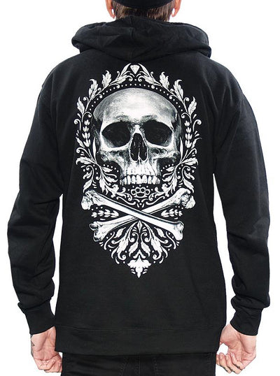 Men's Flourish of Death Hoodie by Skygraphx