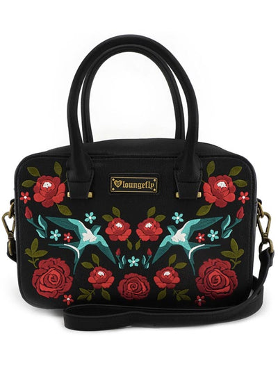 Flowers & Birds Crossbody Bag by Loungefly