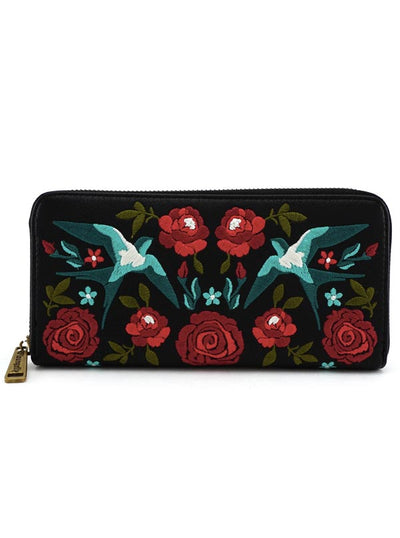 Flowers & Birds Wallet by Loungefly