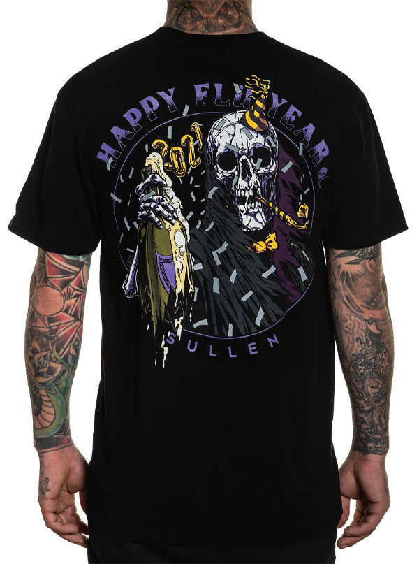 Men's Happy Flu Year Tee by Sullen