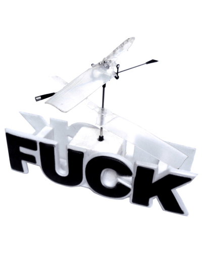 """Flying Fuck"" RC Helicopter by Fandom Planet - www.inkedshop.com"
