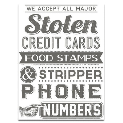 """Food Stamps"" Print by Mindzai Creative - InkedShop - 1"