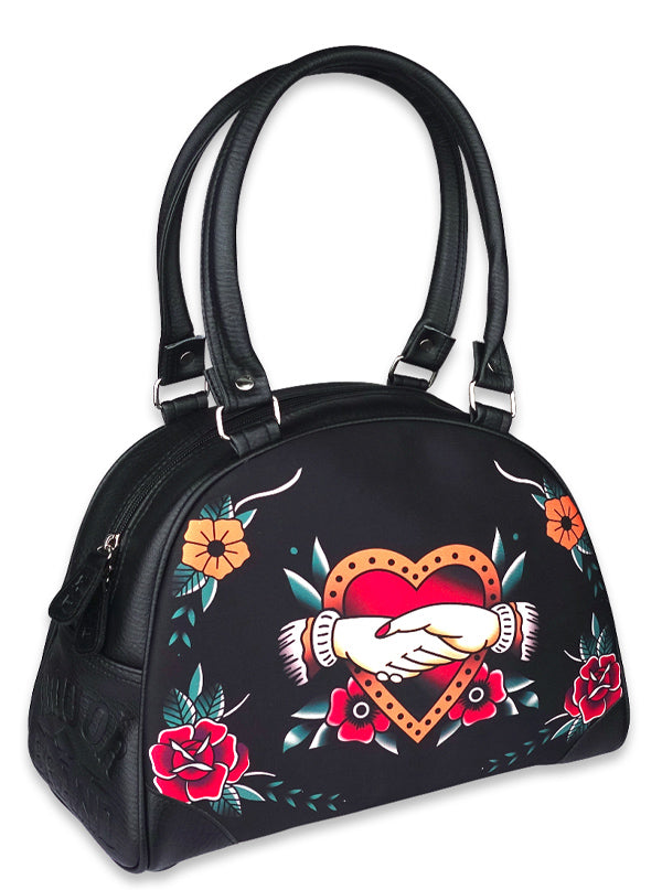 Women's Forever Classic Bowler Bag by Liquorbrand