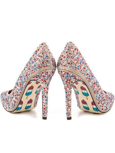 """Fire Cracker"" Heels by Taylorsays (Multi) - www.inkedshop.com"