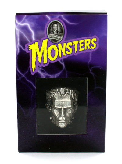 """Frankenstein"" Ring by Han Cholo (Silver) - www.inkedshop.com"