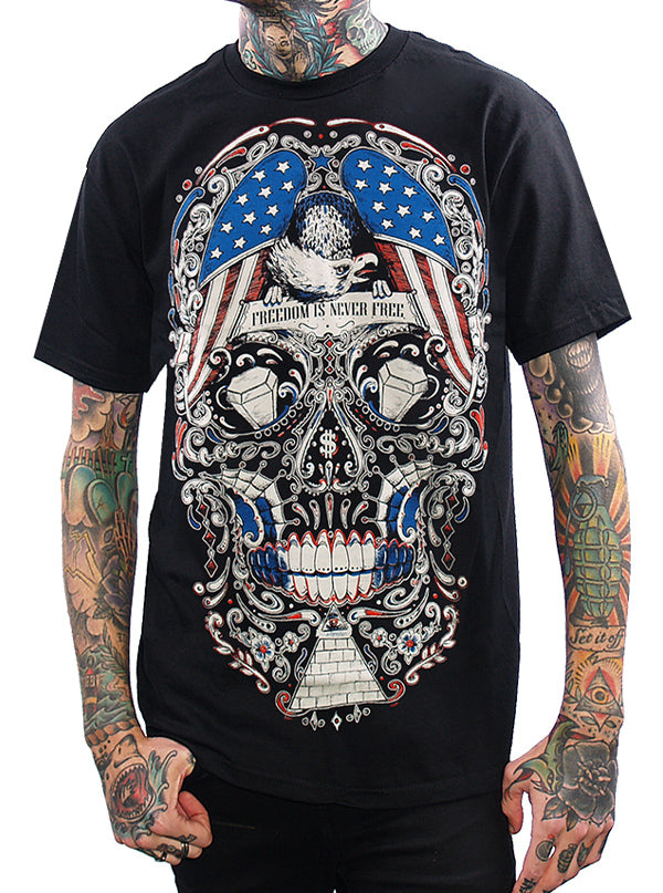 Men's Free For The Dead Tee by Skygraphx
