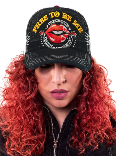 Women's Free to be Me Hat by Lethal Angel