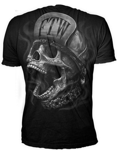 "Men's ""FTW Skull"" Tee by Lethal Threat (Black)"