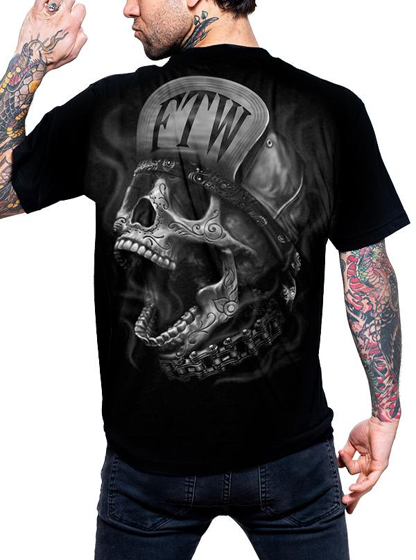 Men's FTW Skull Tee by Lethal Threat
