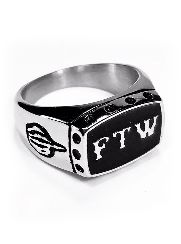 FTW Ring by Gypsy Treasures