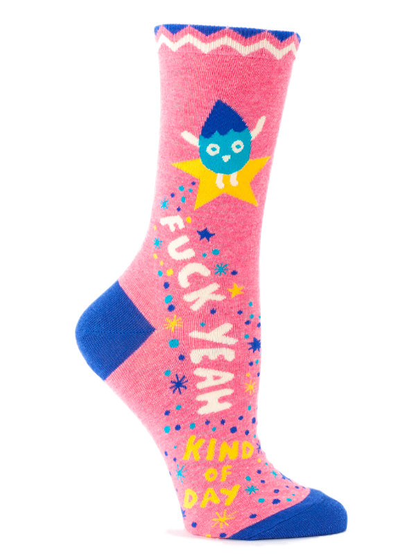 Women's Fuck Yeah Kind of Day Crew Socks