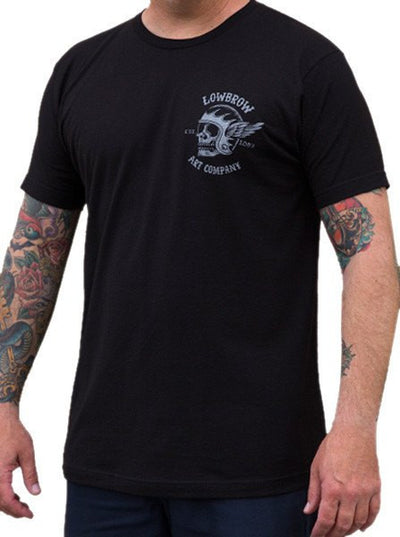"Men's ""Fury Road"" Tee by Lowbrow Art Company (Black) - www.inkedshop.com"