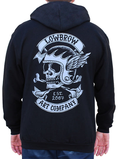 Men's Fury Road Zip Hoodie by Black Market Art
