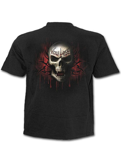 "Men's ""Game Over"" Tee by Spiral USA (Black) - www.inkedshop.com"
