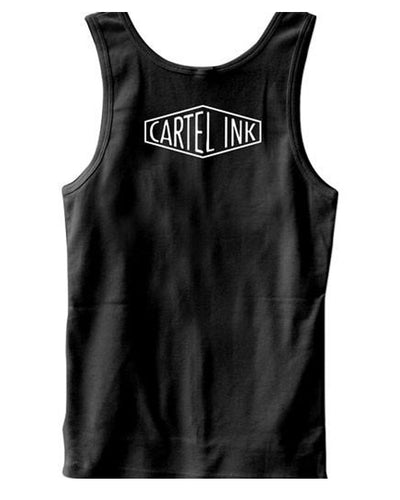Men's Gangsta As Fuck, But Still Need Cuddles Tank by Cartel Ink