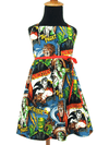 "Girl's ""Classic Monsters "" Dress by Hemet (Multi) - www.inkedshop.com"