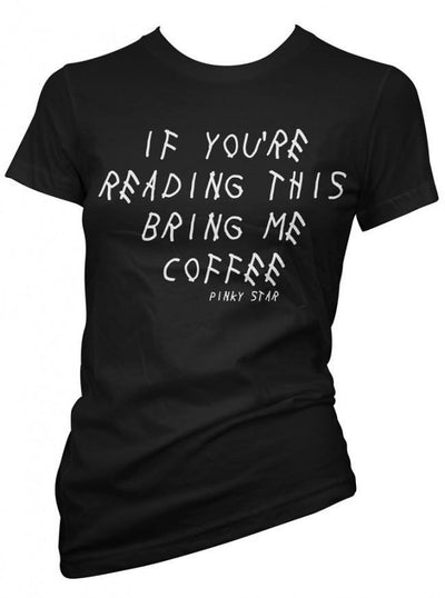 "Women's ""If You Are Reading This..."" Collection by Pinky Star (Black) - www.inkedshop.com"
