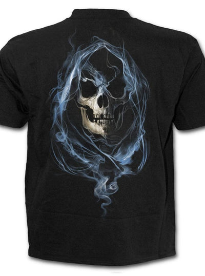"Men's ""Ghost Reaper"" Tee by Spiral USA (Black)"