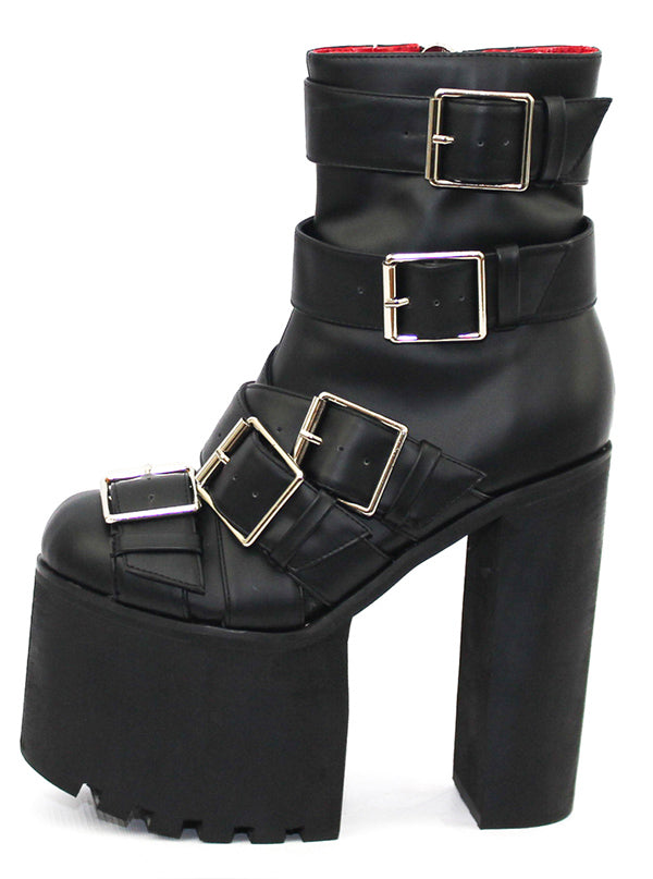 "Women's ""Gibson"" Boot by Charla Tedrick (Black)"