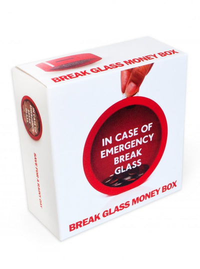 """EMERGENCY"" Money Box (Red)"