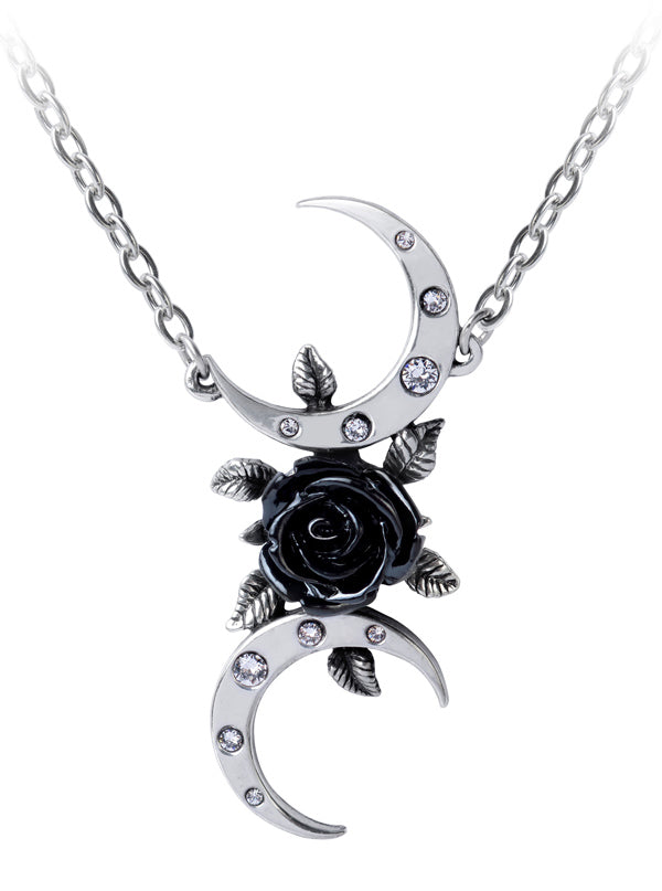The Black Goddess Necklace by Alchemy of England (Pewter)
