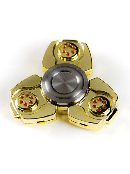 Button 3 Way Metal Fidget Spinners More Options