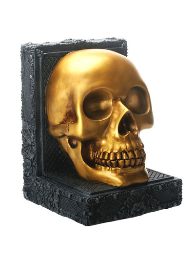 """Golden"" Skull by Summit Collection (Black/Gold)"
