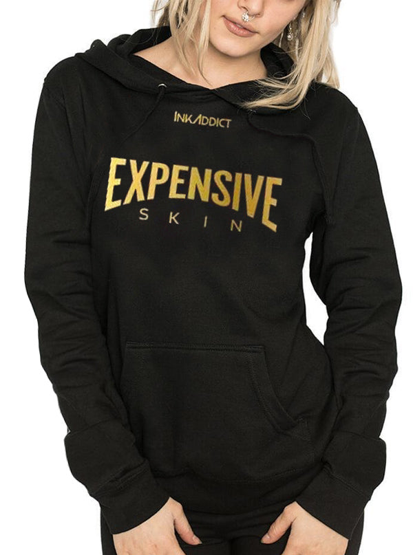 Women's Expensive Skin Lightweight Hoodie by InkAddict