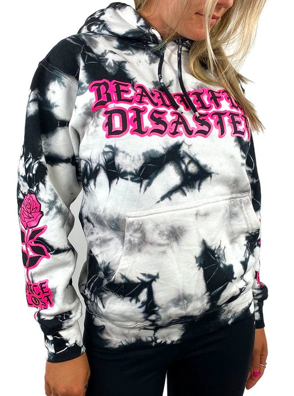 Women's Grace Tie Dye Hoodie by Beautiful Disaster
