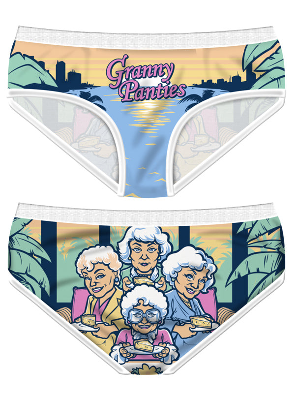 Women's Granny Panties Briefs by Harebrained!