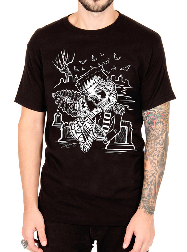 Men's Graveyard Dance Tee by Cartel Ink