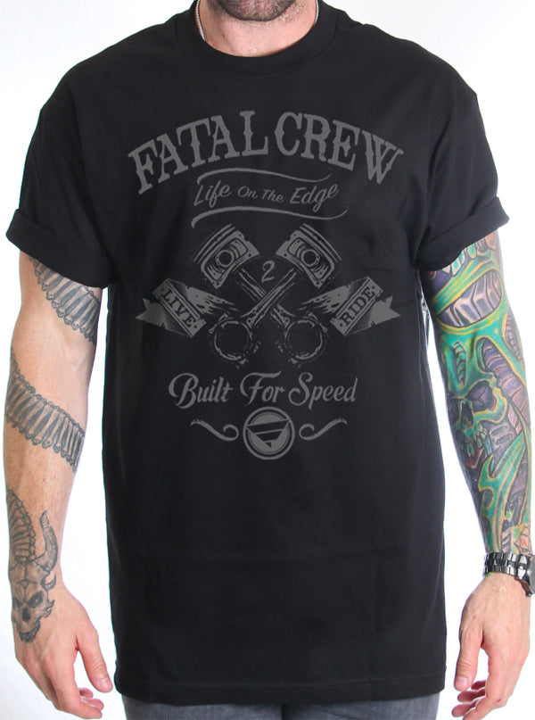 Men's Grease Monkey Tee by Fatal Clothing