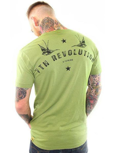 "Men's ""Live Fast"" Tee by 7th Revolution (More Options) - www.inkedshop.com"