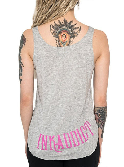 "Women's ""Expensive Skin"" Flow Tank by InkAddict (More Options) - www.inkedshop.com"