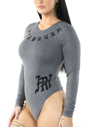 Women's Ordinarily Miraculous Lace-Up Bodysuit by Headrush Brand
