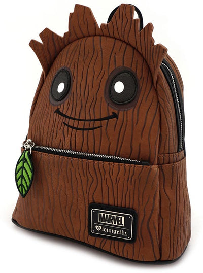 Marvel: Groot Mini Backpack by Loungefly (Brown)