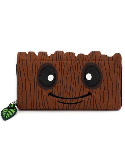 Marvel: Groot Zip Wallet by Loungefly (Brown)