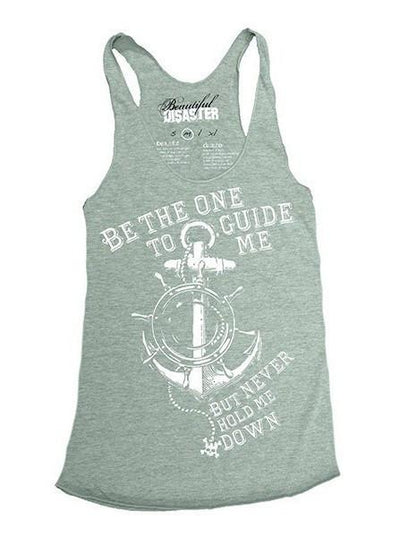 "Women's ""Guide Me"" Racerback Tank by Beautiful Disaster (More Options) - www.inkedshop.com"