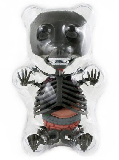 Limited Edition Anatomy Gummy Bear (Grey) - www.inkedshop.com