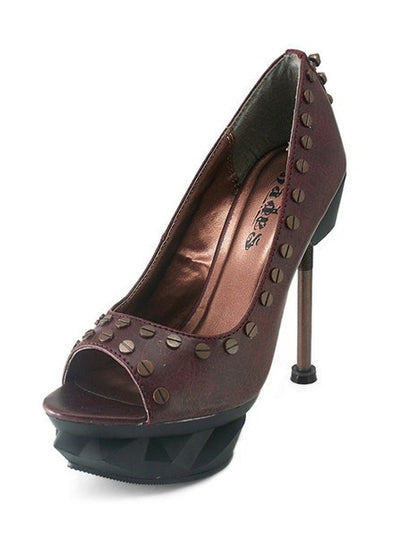 """Iron Punk"" High Heels by Hades (More Options) - www.inkedshop.com"