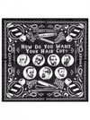 "Men's ""Haircut"" Bandana by Kustom Kreeps (Black) - www.inkedshop.com"