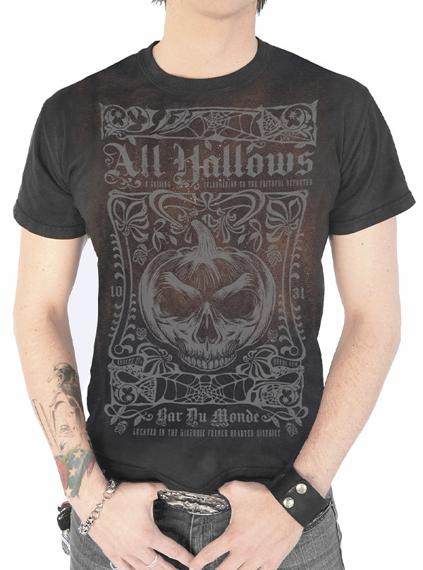 Men's All Hallows Tee by Serpentine Clothing