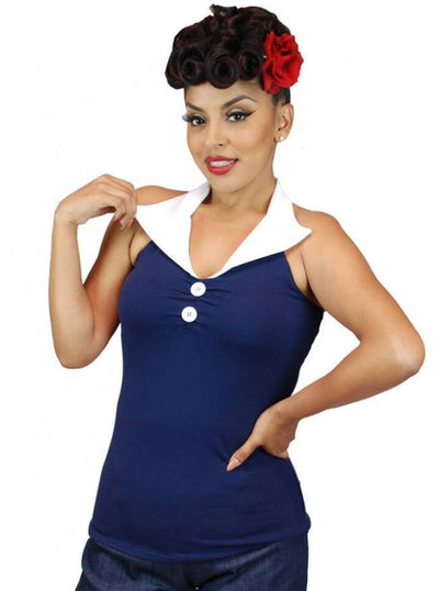 "Women's ""Halter"" Top by Pinky Pinups (More Options) - www.inkedshop.com"