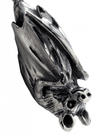 """Hanging Little Bat"" Necklace by Blue Bayer Design (Sterling Silver) - www.inkedshop.com"