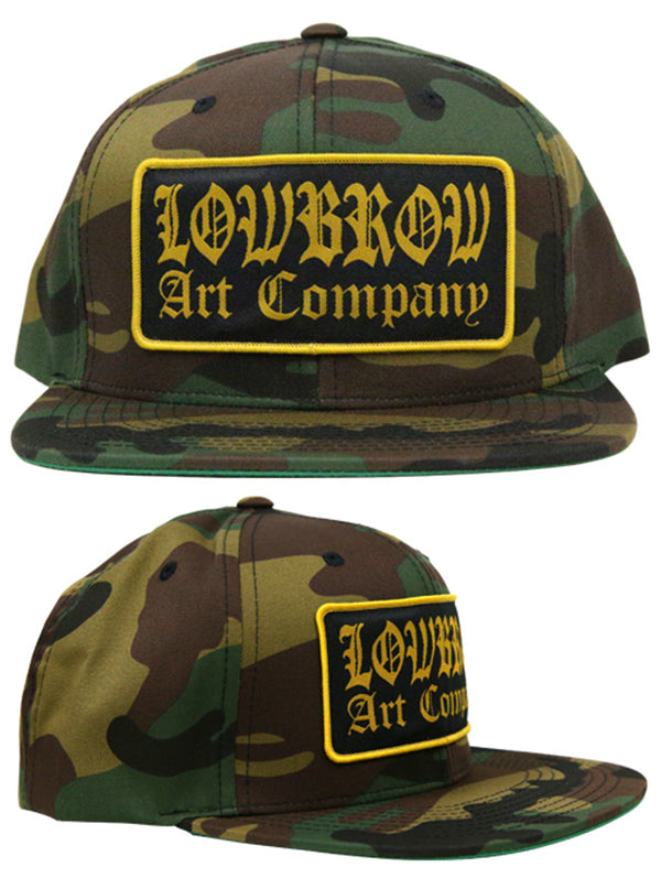 Lowbrow Art Company Snapback Hat by Lowbrow Art Company