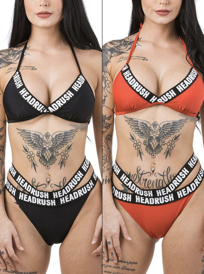 Women's Power Suit Triangle Bikini Top by Headrush Brand