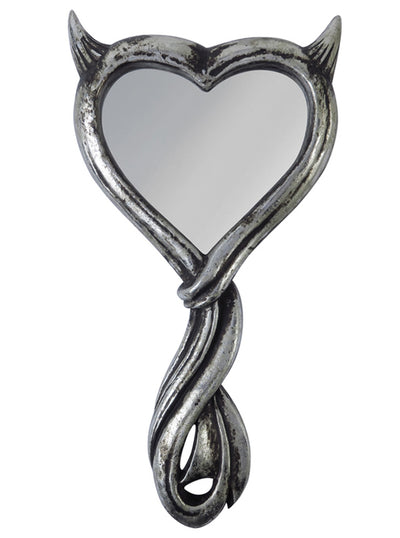 Devil's Heart Hand Mirror by Alchemy of England