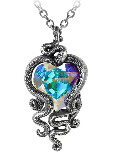 Heart Of Cthulhu Pendant by Alchemy of England
