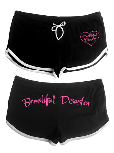 Women's Heart Shorts by Beautiful Disaster