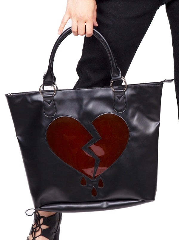 Broken Hearts Shoulder Bag by Jawbreaker